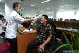 Cegah COVID-19, anggota DPRD Kota Bogor cek kesehatan