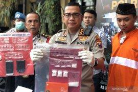 Polresta Malang Kota bekuk jaringan pengedar sabu-sabu
