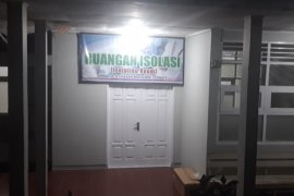 Seorang PDP dirujuk ke ruang isolasi RSUD Chasan Boesoerie