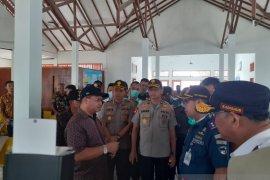 Kapolres Bangka dampingi Kapolda Babel tinjau Pelabuhan Tanjung Gudang