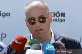 Presiden La Liga optimistis klub Spanyol bisa kembali latihan awal Mei