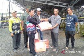 Wabup bantu korban kebakaran warga Desa  Baliuk