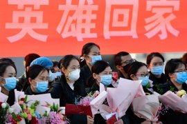 Otoritas  kesehatan China selidiki pemecatan 40 staf medis COVID-19