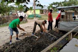 Kodim 1314/Gorontalo Utara lakukan gerakan bersama lawan COVID-19