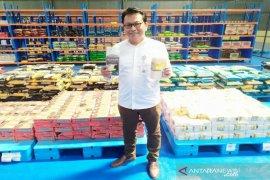 Penjualan bahan pokok Bulog Sumut dengan sistim daring naik