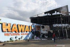 Polisi: Kebakaran wahana wisata di Malang akibat percikan api pengelasan