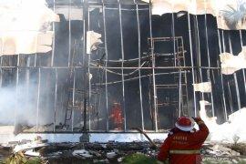 Kebakaran wahana wisata di Malang