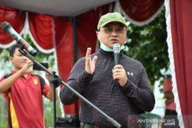 Gubernur Babel Tanam Mangrove dan Edukasi Cegah Covid-19 Masyarakat Belo Laut