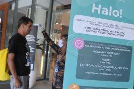 Penyesuaian jam operasional mal di Bali