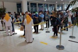 Penumpang Bandara Sultan Thaha wajib berikan riwayat perjalanan