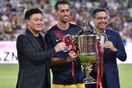 Krisis virus corona paksa Barcelona potong gaji pemain