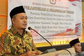KPU tunda pelantikan 138 PPS se Kota Palu