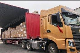 Pesawat TNI AU angkut 9 ton peralatan medis dari Shanghai China