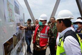 Gubernur  Sumsel minta Kementerian PUPR perhatikan jembatan 'tua'
