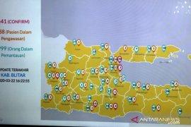 Gubernur Jatim : 41 orang  berstatus positif COVID-19