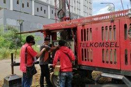 Telkom memperkuat sinyal di Rumah Sakit Darurat COVID-19
