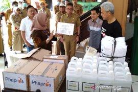 Gubernur Ganjar Pranowo tetapkan Jateng berstatus tanggap darurat bencana COVID-19