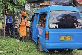 Pemkot Malang lakukan penyemprotan disinfektan di ruang publik