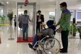 "Bandara Jambi tambah fasilitas ""Walk Through Disinfection"""
