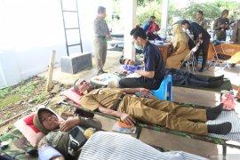 Stok darah  di PMI Tanah Laut menipis