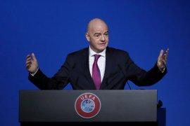 FIFA menggandeng WHO untuk perangi pandemi corona