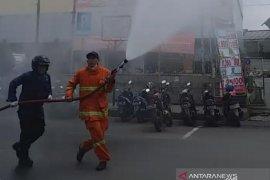 Pemkot Bogor lakukan penyemprotan disinfektan di 293 titik