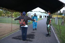 Pangkalan Udara TNI AU Pattimura Ambon sterilisasi jalur masuk base ops