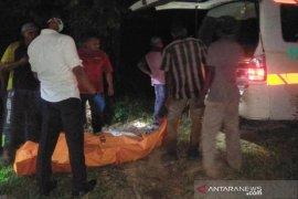 Seorang petani ditemukan meninggal di kebun sawit dengan kondisi mulai membusuk