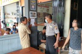 Polisi di perbatasan gencar sebarkan maklumat Kapolri cegah Virus Corona