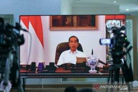 Presiden tetapkan status Pembatasan Sosial Berskala Besar