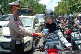 Kesadaran masyarakat Banjarmasin gunakan masker rendah
