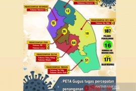 187 Pelaku Perjalanan terpantau di Kota Padangsidimpuan