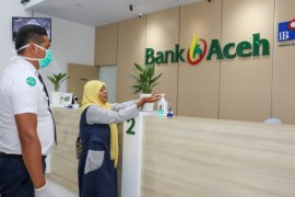 Bank Aceh Syariah tingkatkan pencegahan COVID-19