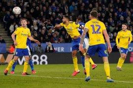 Leicester siapkan restart dengan latihan tanding di stadion  kosong