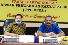 Cegah virus corona, Empat fraksi DPR Aceh tolak hadiri rapat paripurna