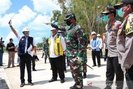 Pembangunan RS Darurat COVID-19 di Pulau Galang, Kota Batam,  capai 78 persen