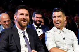 Ronaldo dan Messi sumbang Rp17 miliar untuk lawan virus corona