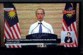 """PM Malaysia: """"lockdown"""" sebagian  diperpanjang hingga 14 April"""