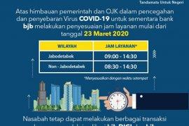 Bank BJB sesuaikan jam operasional layanan kas