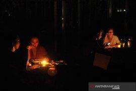 Bali gelap gulita saat malam Nyepi