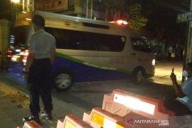 Pengamanan ketat dilakukan di rumah Presiden Jokowi di Solo