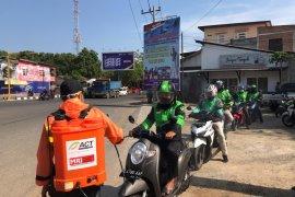 ACT-MRI semprot pangkalan ojek di Banda Aceh dengan cairan antikuman