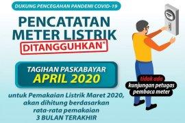 Berlaku seluruh Indonesia, PLN tangguhkan pencatatan meteran listrik