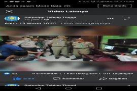 TNI-Polri dan Satpol PP Tebing Tinggi peringatkan pengusaha dan pengunjung cafe