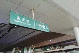 Setelah ditutup total, Stasiun kereta api di Hubei mulai layani penumpang