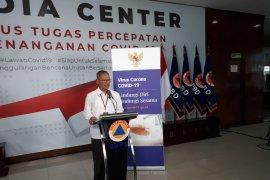 Achmad Yurianto: Kasus COVID-19 menyebar di 27 provinsi di Tanah Air