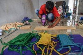 Perajin bordir Denpasar produksi masker untuk atasi kelangkaan