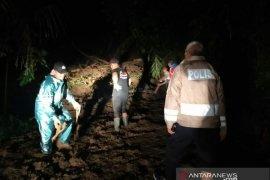 Jalur penghubung antarkabupaten Cianjur dan Bandung putus akibat longsor