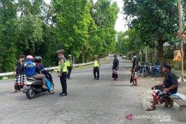 Polres Bangli amankan akses keluar-masuk kabupaten
