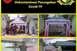 Cegah COVID-19 markas Denpom 1/2 Sibolga disterilkan